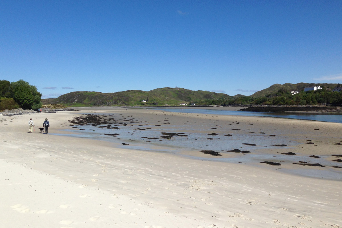 The beach at Morar