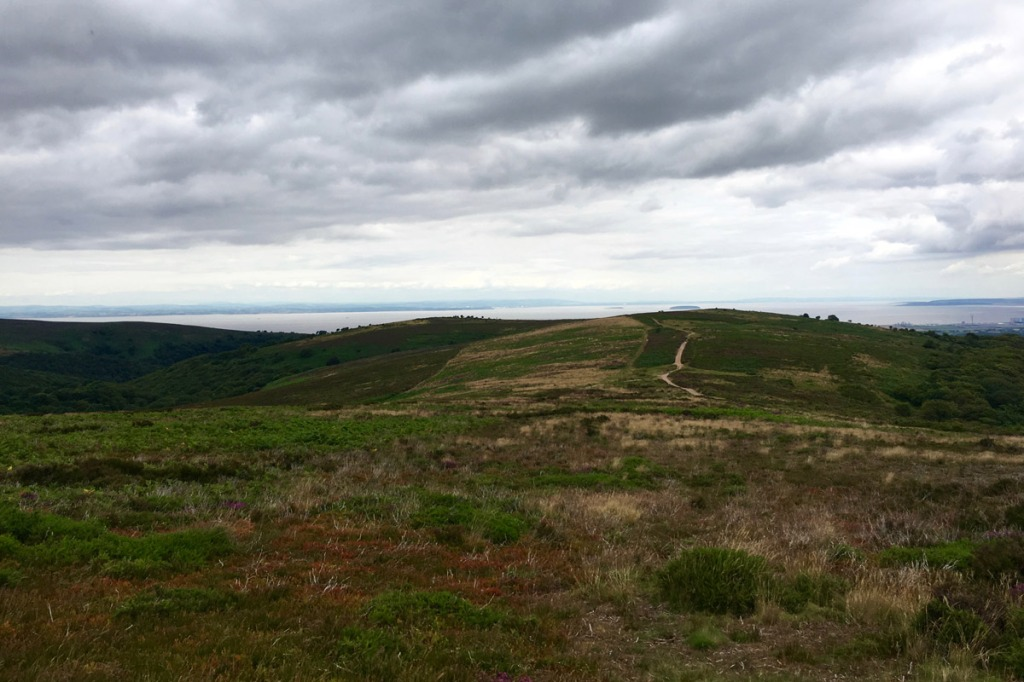 Epic Quantock views - out towards the Bristol Channel