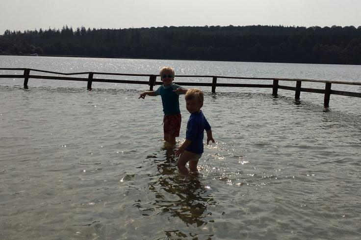 Lakeside fun
